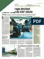 Boom du covoiturage - Le Parisien - 9 juin 2011