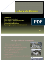 Asezarile Urbane Din Romania