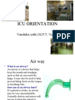 Icu Orientation