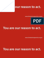 Our Reason to Act Pamphlet