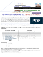 Geography Interactive Ias Main Test Series Programme 2011 Module i2