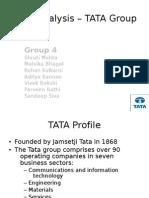 tata group bcg matrix