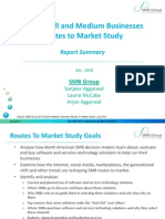 Routes to Market Study