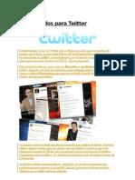 Crear Fondos Para Twitter