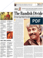 Bandish - Mumbai Mirror - 14 July 2011