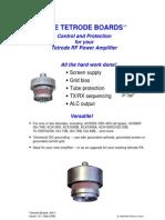 Tetrode Manual