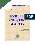 Mesaros Anghel  Volumul III 'EVREI ŞI CREŞTINI – FAPTE'-2011 (DOC)