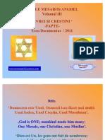 Mesaros Anghel  Volumul III 'EVREI ŞI CREŞTINI – FAPTE'-2011 (PPT)