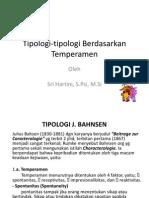 tipologi J. Bahsen