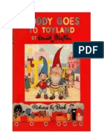Blyton Enid Noddy 1 Noddy Goes to Toyland (1949)