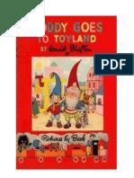 Blyton Enid Noddy 1 Noddy Goes to Toyland (1949)