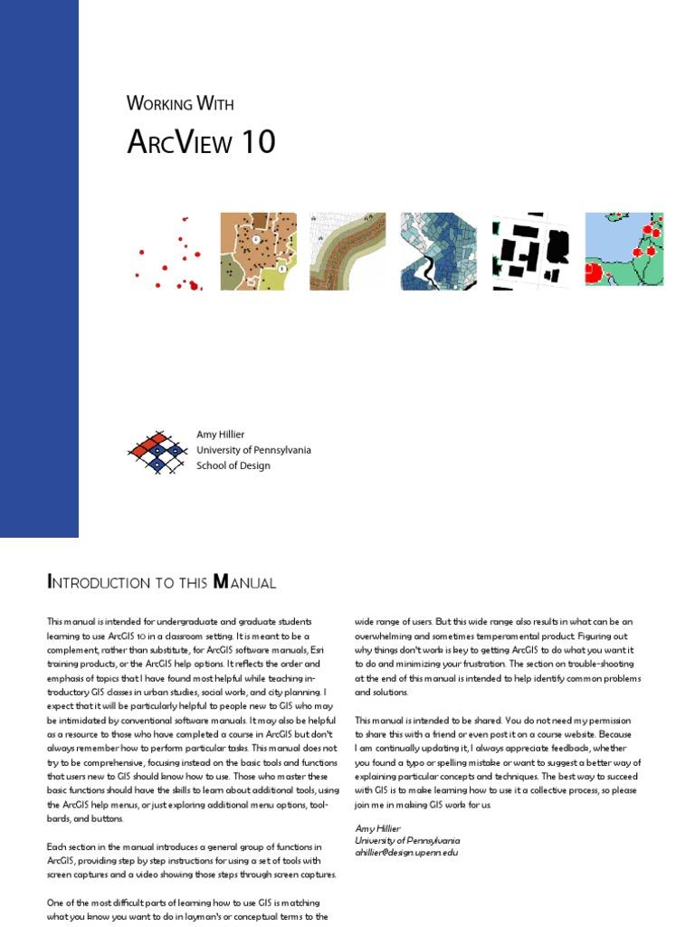 arcview 10