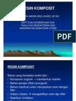 Ikg-08 Slide Resin Komposit