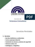 Peritaciones Criminalísticas