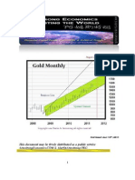 Outlook for Gold 07-13-2011