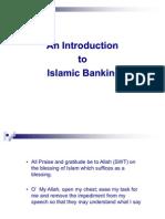 Introduction to Islamic Banking & World Eco History