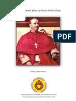 Breve Exame Critico Do Novus Ordo Missae