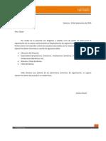Parametros de organización de planos
