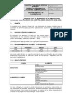 Terminos de Referencia SPO-03-2011