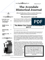 The Avondale Historical Journal Vol 1 Issue 7