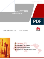 Introduction of IPTV BMS Subsystem V1.0