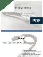 Sistema de Injeção Eletrônica(UFMG) - Sonda Lambda (sensor de oxigênio)