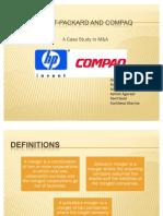The HP-Compaq Merger (1)