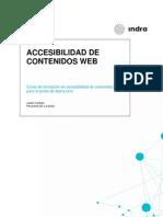 Accesibilidad Contenidos Web