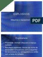 Explosivos - Apresentacao