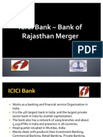 Bank of Rajasthan ICICI Bank