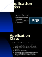 Peoplesoft Application Class/  Application Packages