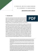 COSTA SARAIVA, JOAO El Perfil Del Juez en El Nuevo Derecho de La Infancia y Adolescencia