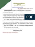 Lei de Libras - Regulamento