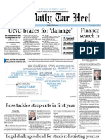 The Daily Tar Heel for July 14, 2011
