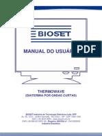 Manual do Usuário THERMOWAVE