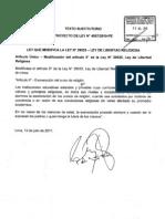 TEXTO SUSTITUTORIO PROYECTO DE LEY N°4587