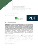Propuesta Gerencia Del Servicio - SERVIARROZ