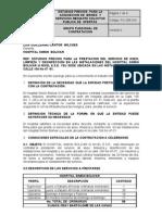 Estudios Previos SPO-02-2011