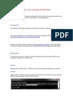 O MRTG 2.16.2 Guia de instalação do Windows