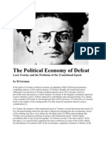 The Political Economy of Defeat - Leon Trotsky and the problems of the transitional epoch