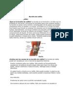 Bursitis de Rodilla