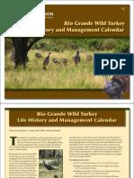 Turkey Management Calendar
