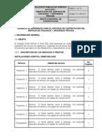 Terminos de Referencia SPO-01-2011