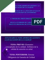 Clase de Est and Ares e Indicadores 2009