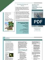 SAWIG Brochure, July 2011