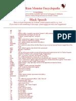 Black Speech