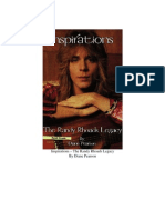 Diane Pearson - Inspirations - The Randy Rhoads Legacy