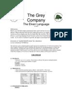Elven Language