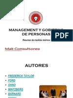 Management y Gobierno de Personas.