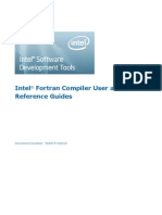 Intel Fortran Compiler User Guide